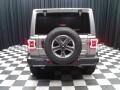 Jeep Wrangler Unlimited Sahara 4x4 Billet Silver Metallic photo #7
