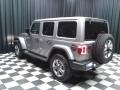 Jeep Wrangler Unlimited Sahara 4x4 Billet Silver Metallic photo #8