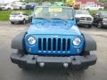 Jeep Wrangler Sport 4x4 Hydro Blue Pearl photo #9