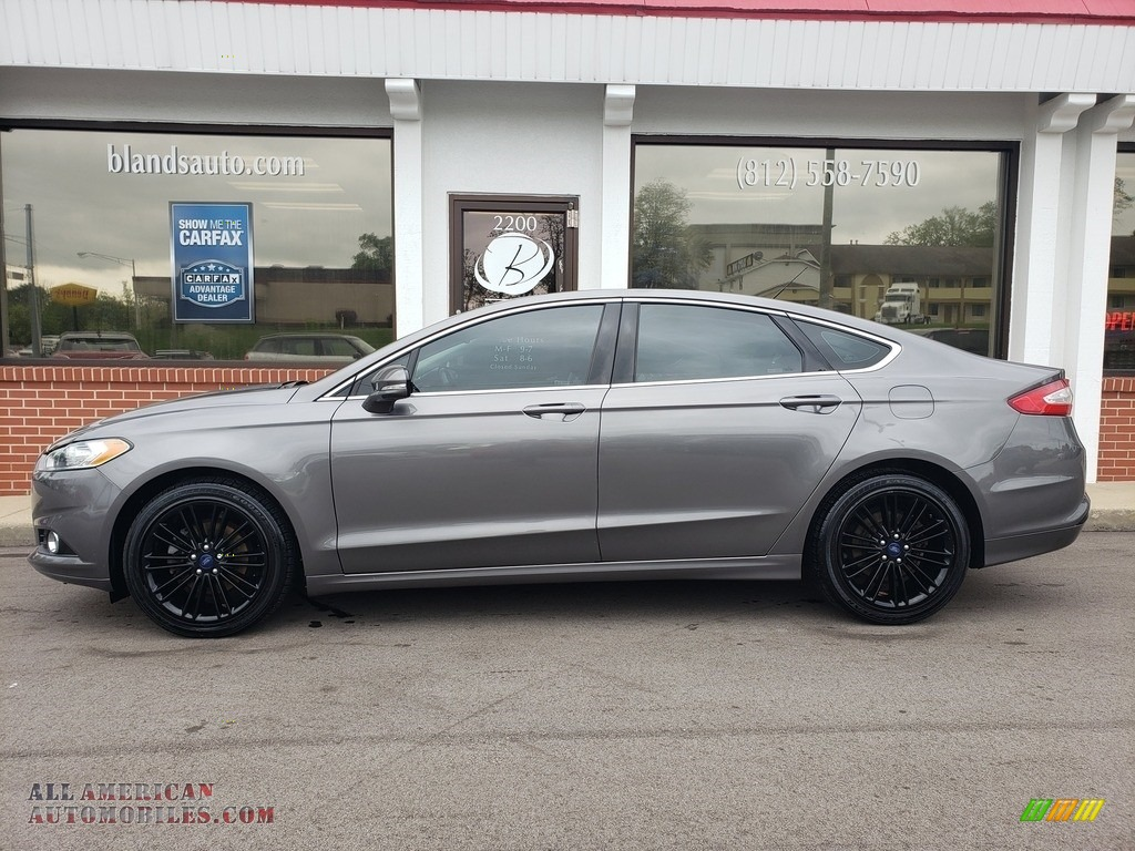 2014 Fusion SE EcoBoost - Sterling Gray / Charcoal Black photo #1