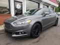 Ford Fusion SE EcoBoost Sterling Gray photo #2