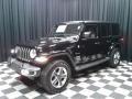 Jeep Wrangler Unlimited Sahara 4x4 Black photo #2