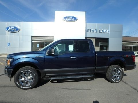 Blue Jeans 2019 Ford F150 XLT SuperCab 4x4