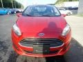 Ford Fiesta SE Sedan Hot Pepper Red photo #8