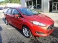 Ford Fiesta SE Sedan Hot Pepper Red photo #9