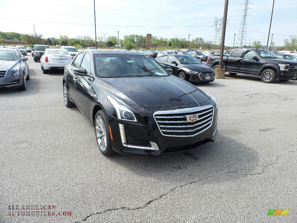 2019 CTS Luxury AWD - Black Raven / Jet Black photo #1