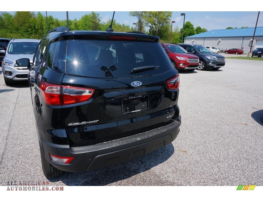 2019 EcoSport SE 4WD - Shadow Black / Ebony Black photo #3
