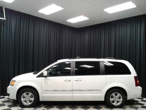 Stone White 2010 Dodge Grand Caravan SXT