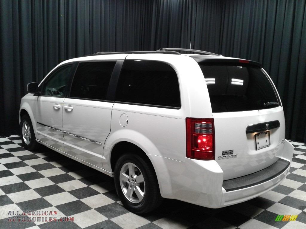 2010 Grand Caravan SXT - Stone White / Dark Slate Gray/Light Shale photo #7
