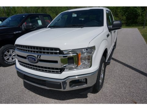 Oxford White 2019 Ford F150 XLT SuperCab