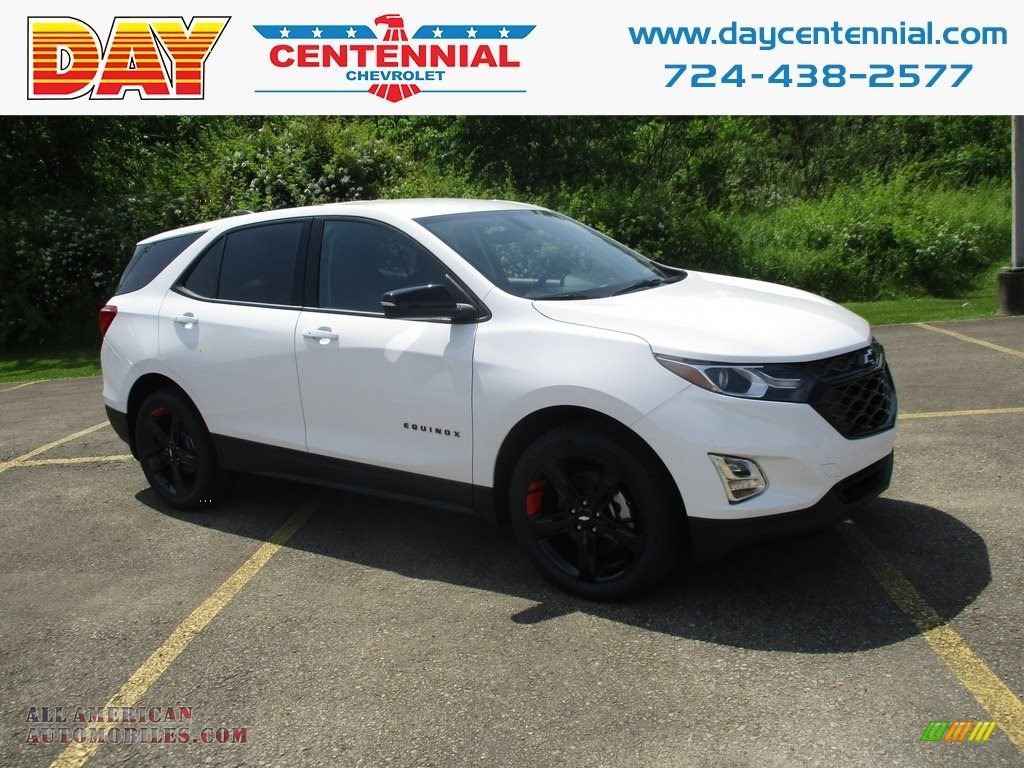 Summit White / Jet Black Chevrolet Equinox LT AWD