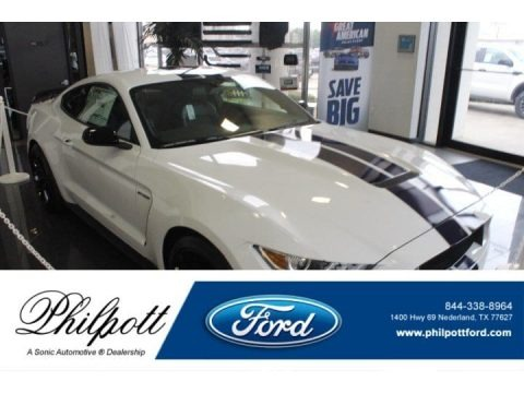 Oxford White 2019 Ford Mustang Shelby GT350