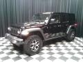 Jeep Wrangler Unlimited Rubicon 4x4 Black photo #2
