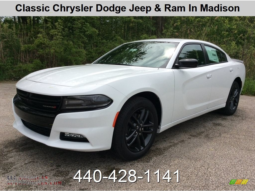 2019 Charger SXT AWD - White Knuckle / Black photo #1