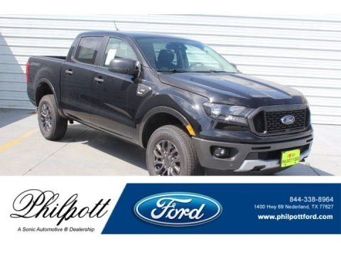 Shadow Black 2019 Ford Ranger XL SuperCab