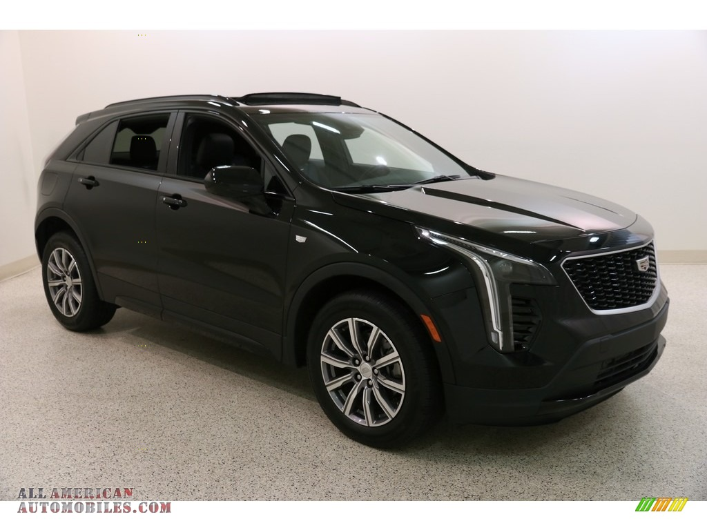 2019 XT4 Sport - Stellar Black Metallic / Jet Black photo #1