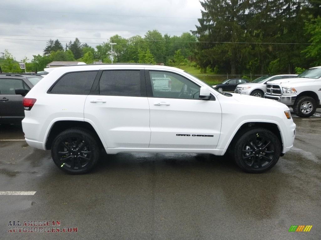 2019 Grand Cherokee Laredo 4x4 - Bright White / Black photo #7