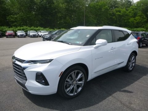 Summit White 2019 Chevrolet Blazer Premier AWD