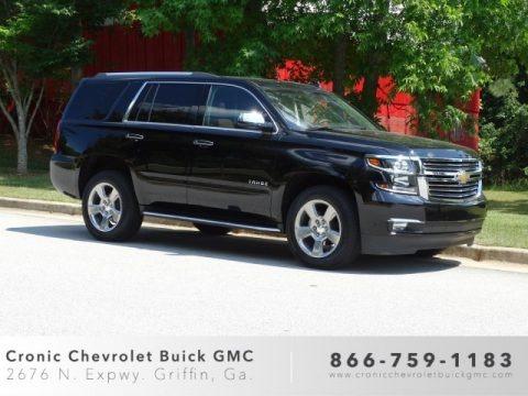 Black 2019 Chevrolet Tahoe Premier