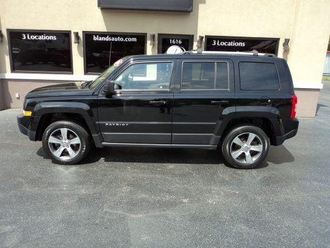 Black 2016 Jeep Patriot High Altitude 4x4
