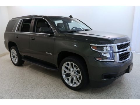Deepwood Green Metallic 2019 Chevrolet Tahoe LT 4WD
