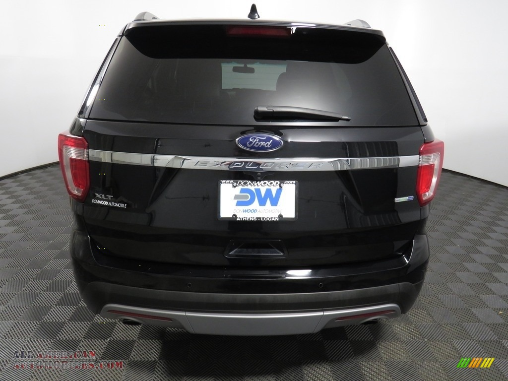 2016 Explorer XLT 4WD - Shadow Black / Ebony Black photo #11
