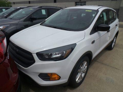 Oxford White 2019 Ford Escape S