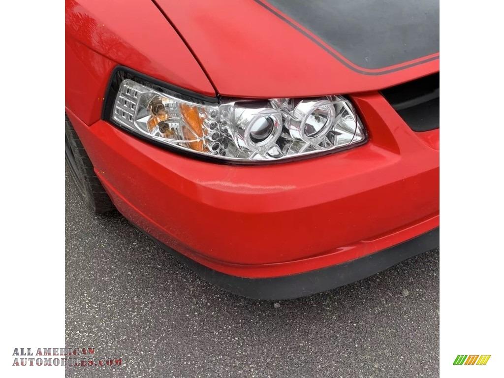 2004 Mustang V6 Coupe - Competition Orange / Medium Graphite photo #11