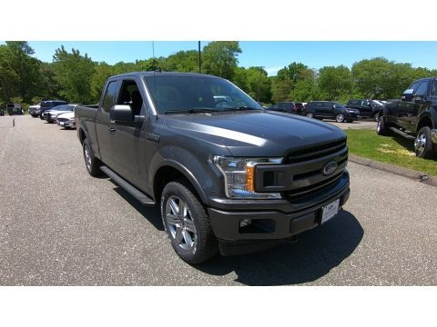Magnetic 2019 Ford F150 XLT SuperCab 4x4