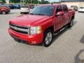 Chevrolet Silverado 1500 LTZ Crew Cab 4x4 Victory Red photo #4
