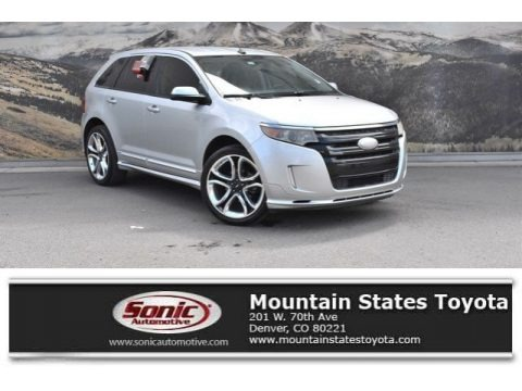 Ingot Silver Metallic 2011 Ford Edge Sport