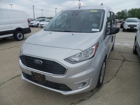 Ingot Silver 2019 Ford Transit Connect XLT Passenger Wagon