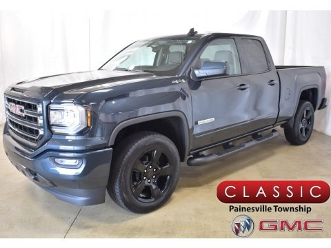 Dark Slate Metallic 2019 GMC Sierra 1500 Limited Elevation Double Cab 4WD