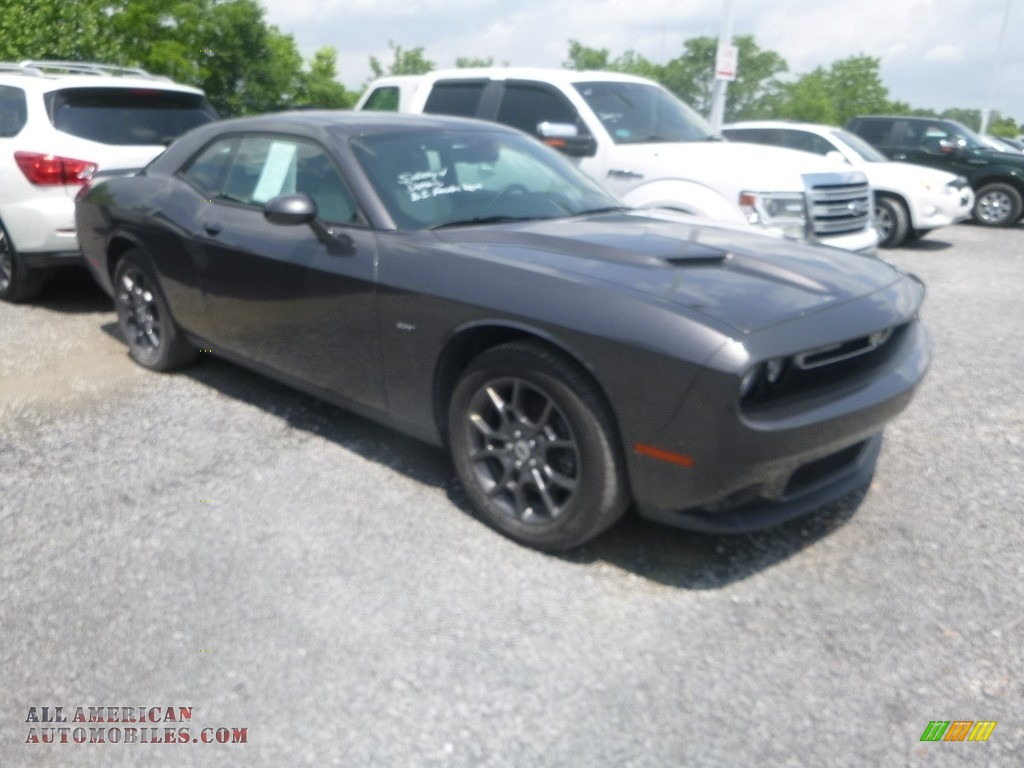 2018 Challenger GT AWD - Destroyer Gray / Black photo #1