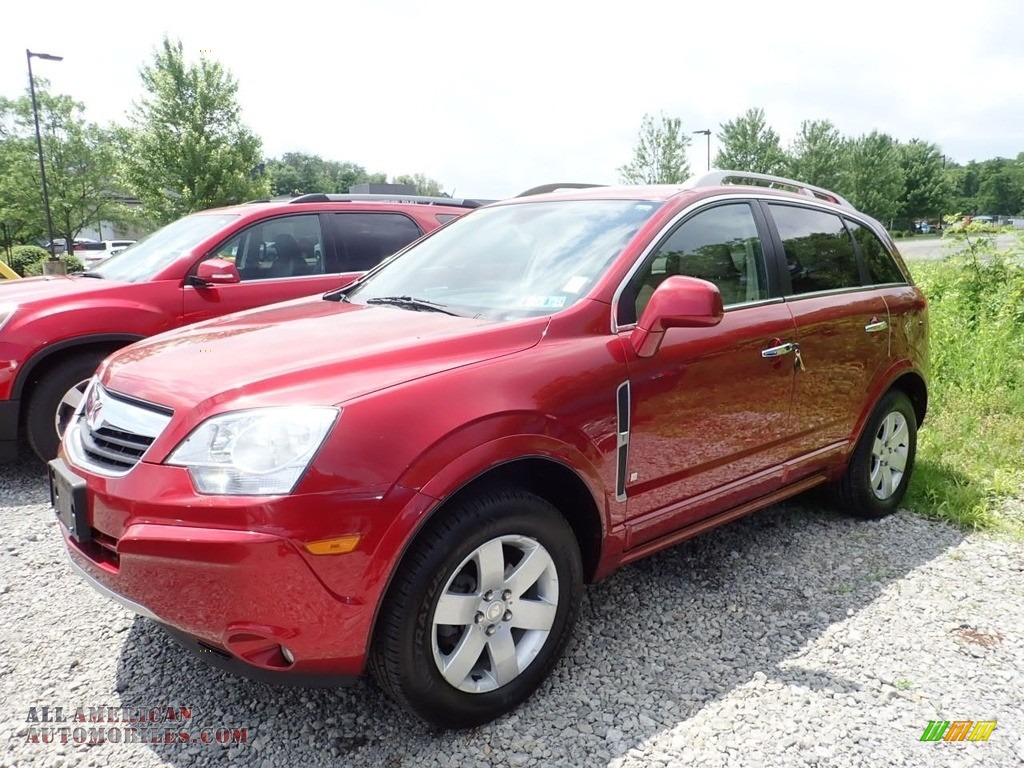 2008 VUE XR - Ruby Red / Tan photo #1