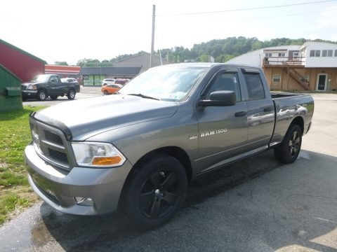 Mineral Gray Metallic 2012 Dodge Ram 1500 ST Quad Cab 4x4