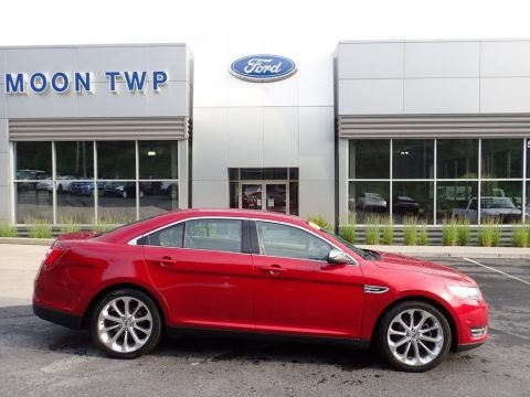 Ruby Red Metallic 2015 Ford Taurus Limited