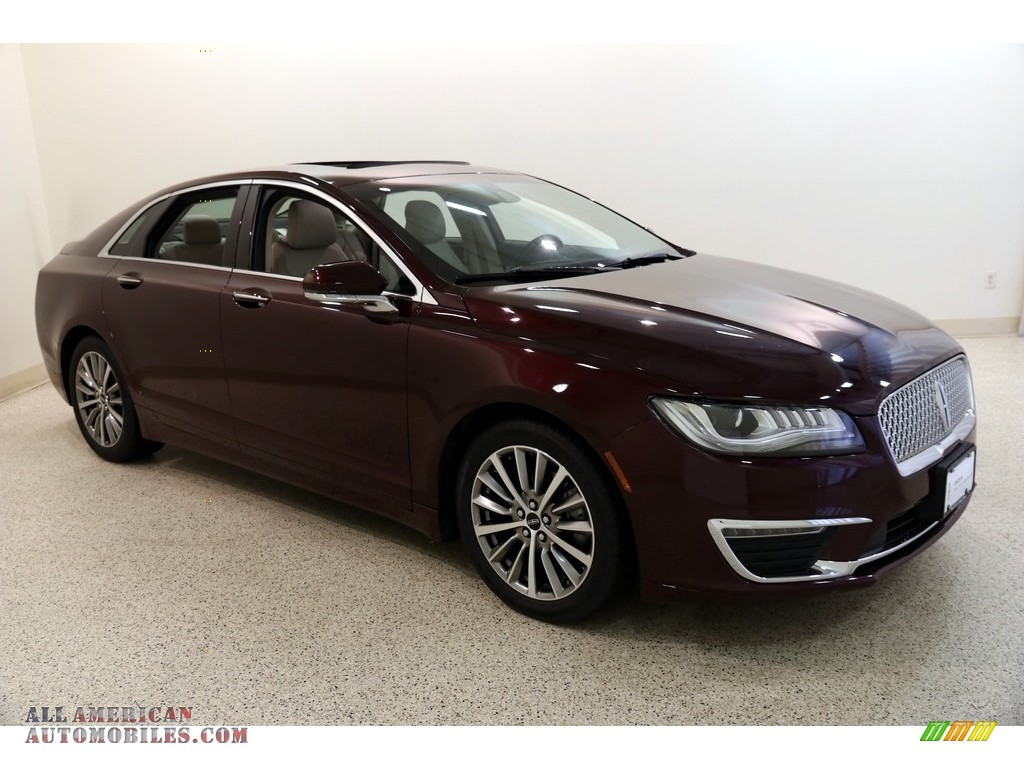 2017 MKZ Select - Burgundy Velvet / Cappuccino photo #1