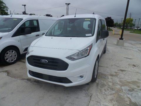 Frozen White 2019 Ford Transit Connect XLT Van