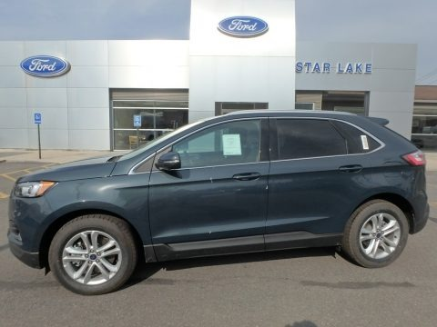 Baltic Sea Green 2019 Ford Edge SEL AWD