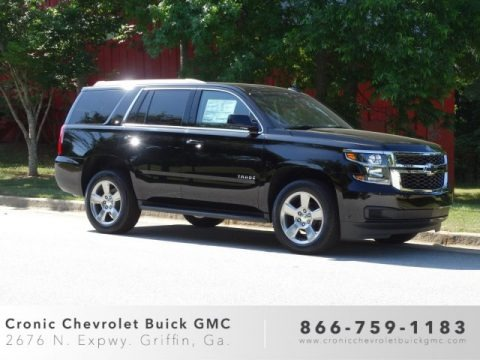 Black 2019 Chevrolet Tahoe LT