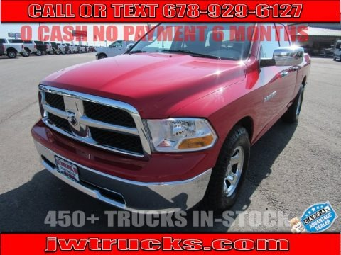 Flame Red 2012 Dodge Ram 1500 ST Quad Cab