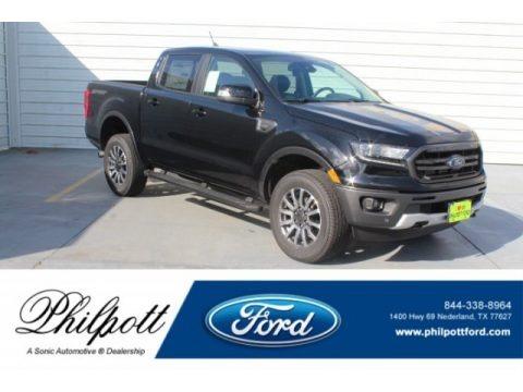 Shadow Black 2019 Ford Ranger Lariat SuperCrew