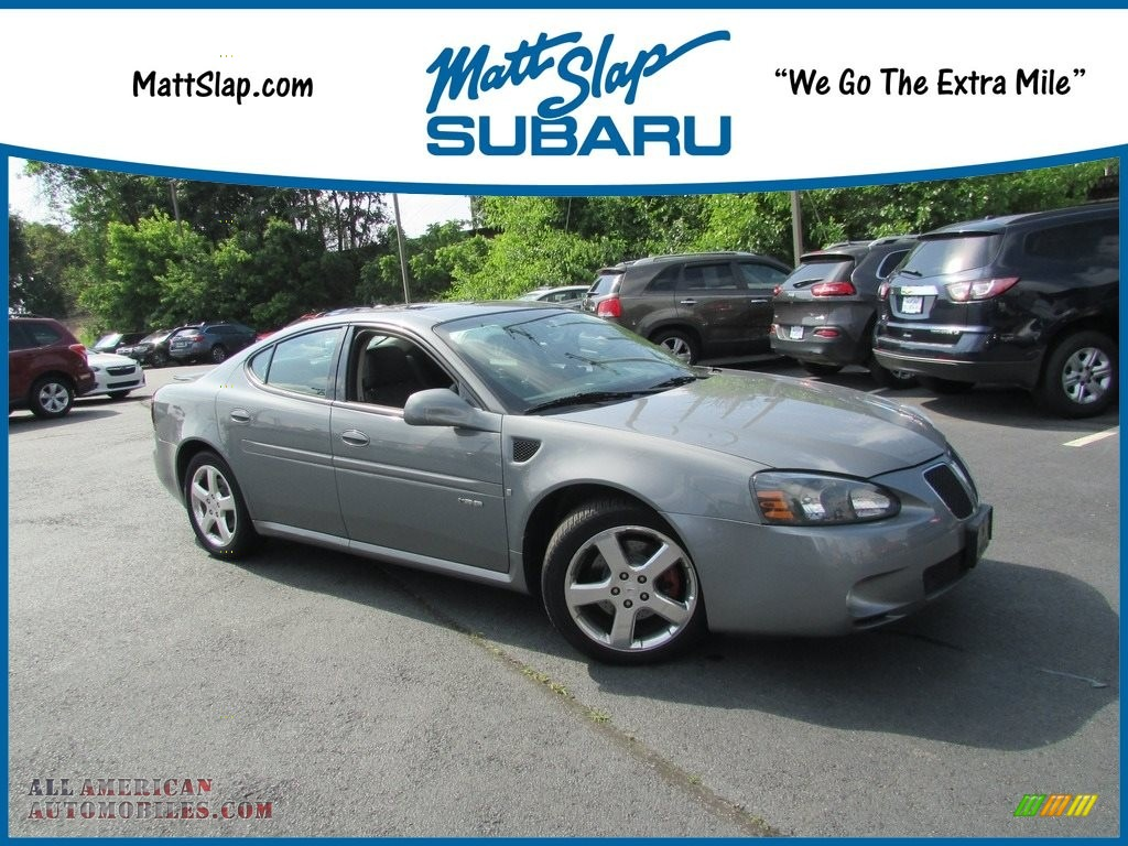 2008 Grand Prix GXP Sedan - Shadow Gray Metallic / Ebony photo #1