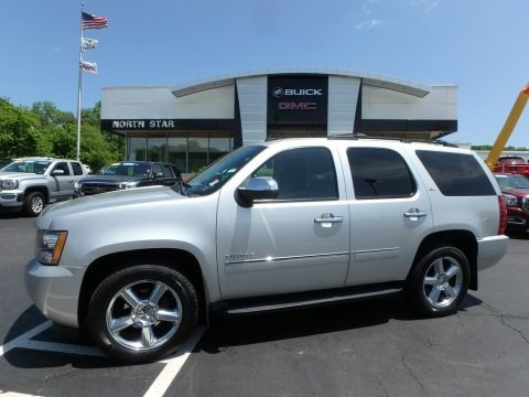 Sheer Silver Metallic 2011 Chevrolet Tahoe LTZ 4x4