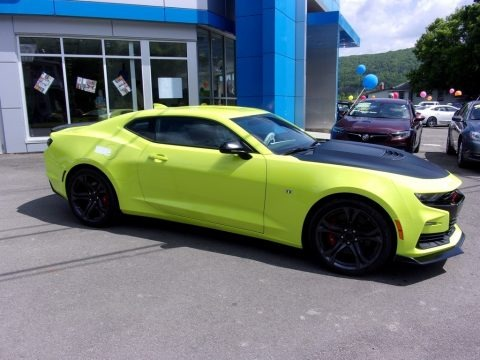 Shock (Light Green) 2019 Chevrolet Camaro SS Coupe