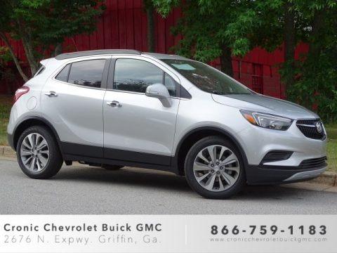 Quicksilver Metallic 2019 Buick Encore Preferred