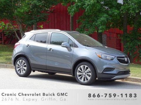 Satin Steel Metallic 2019 Buick Encore Preferred