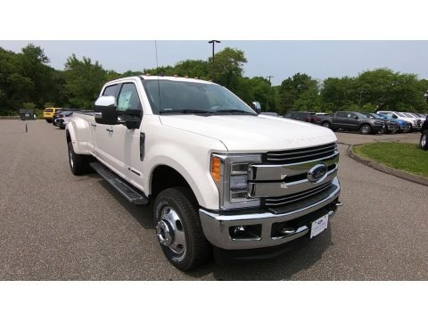 White Platinum 2019 Ford F350 Super Duty Lariat Crew Cab 4x4