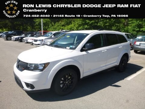 Vice White 2019 Dodge Journey SE